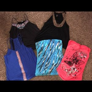 Maurice's Women's fashion tops size XL, set of 5